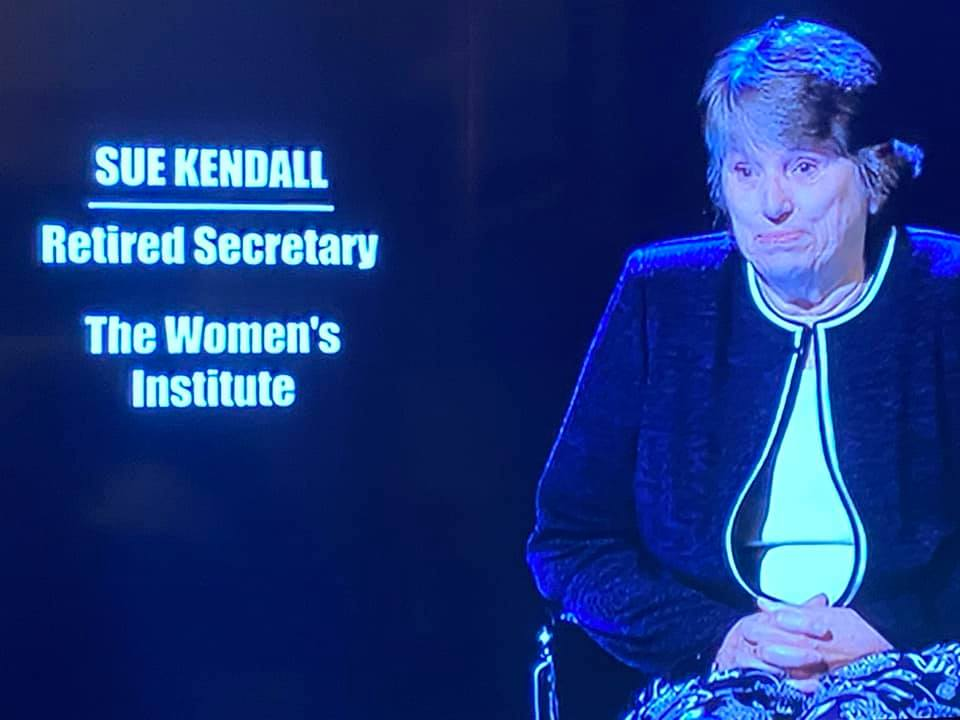 Sue Kendall in Mastermind Chair