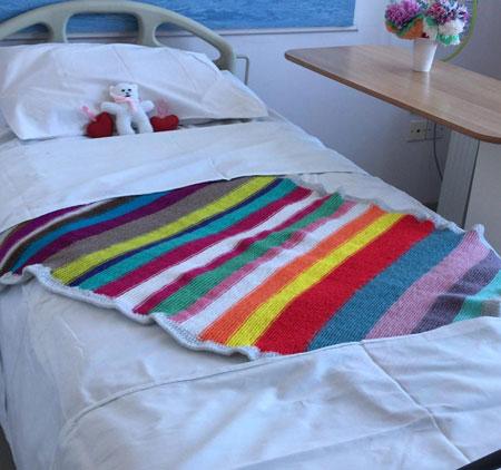 Keepsake blanket