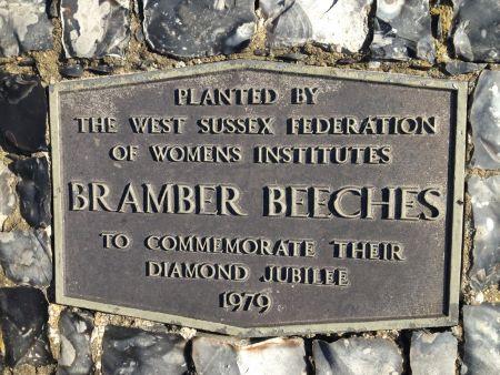 Cairn naming Bramber Beeches