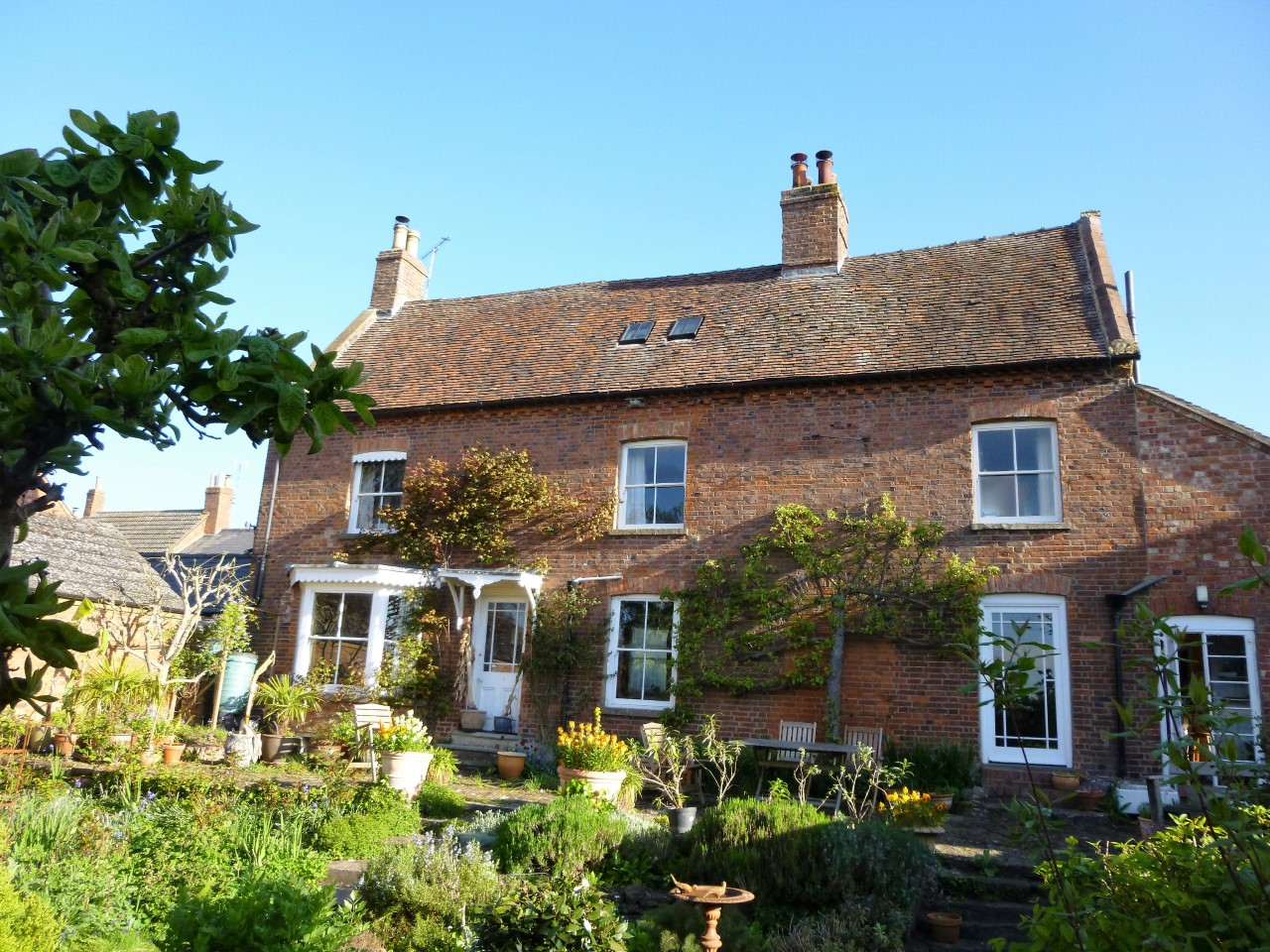 Present day farmhouse